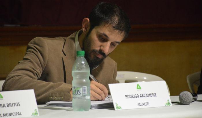 Alcalde Rodrigo Arcamone