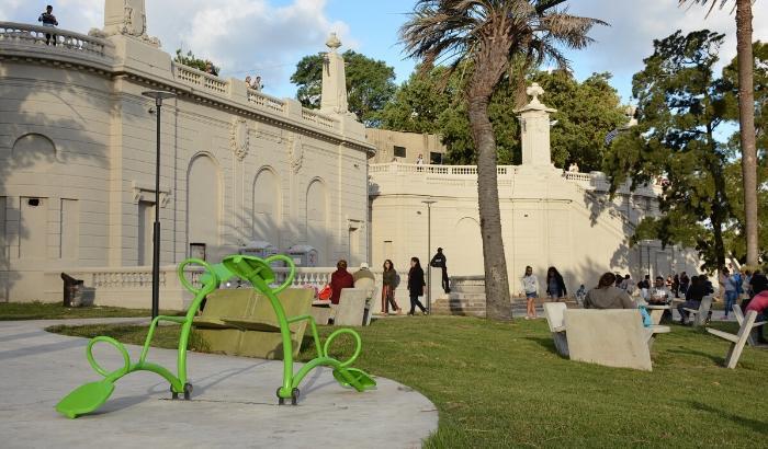 Imagen: Inauguración Parque Capurro, Febrero 2019