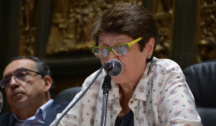 Discurso de la alcaldesa del Municipio C