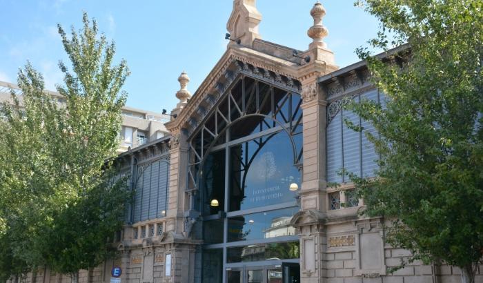 Puerta de acceso principal del Mercado Agrícola de Montevideo