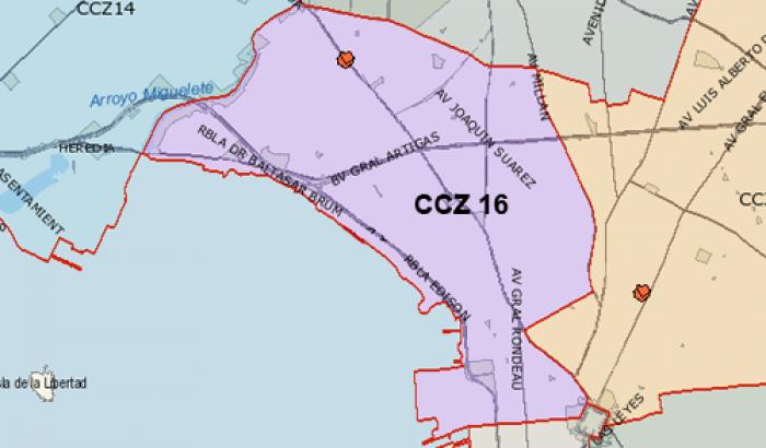 Mapa CCZ 16