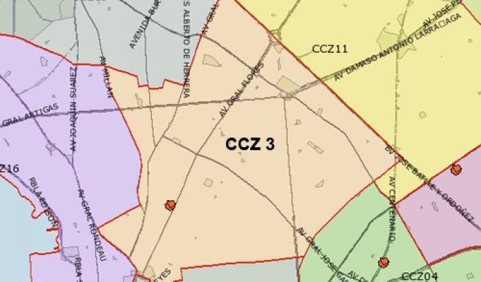 Mapa CCZ 3