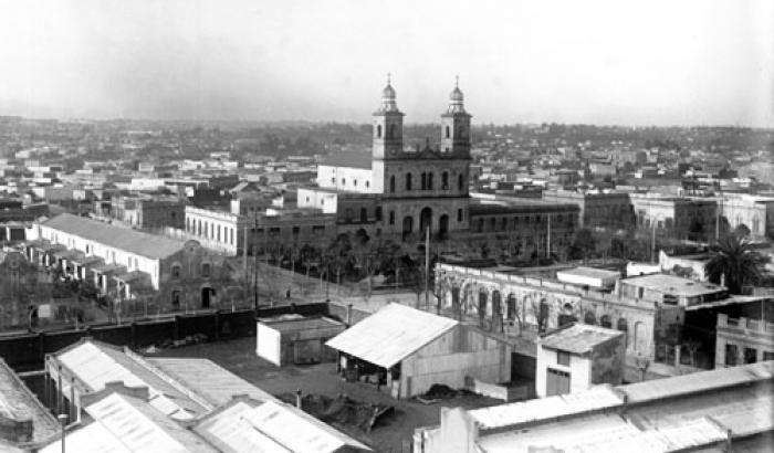 Iglesia del Reducto. Año 1921 (Foto 2950 FMH.CMDF.IMM.UY)