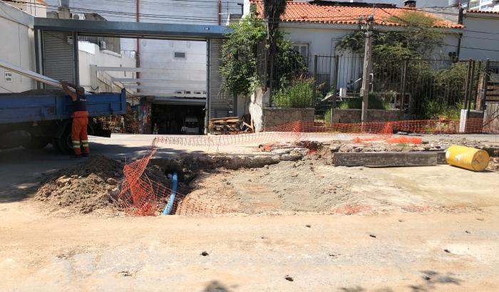 Pampillo y Novas en obras. Autor: Equipo de Comunicación - Municipio C