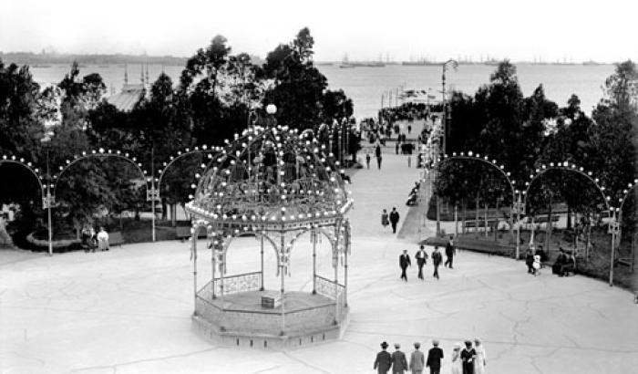 Parque Capurro. Año 1917. (Foto 1250 FMH.CMDF.IMM.UY)
