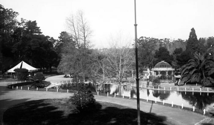 Parque Prado. Año 1933. (Foto 5924FMH.CMDF.IMM.UY)