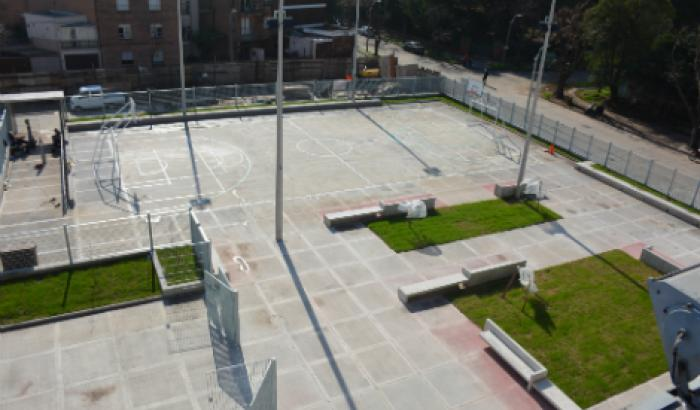Canchas polideportivas Liceo Nº 26.