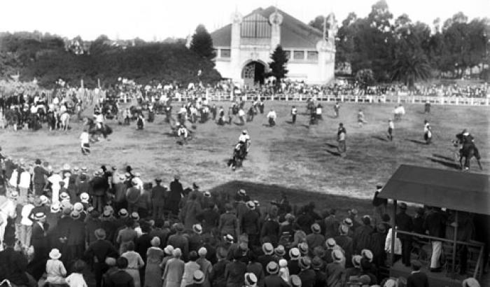 Semana Criolla. Año 1929. (Foto 5192 FMH.CMDF.IMM.UY)