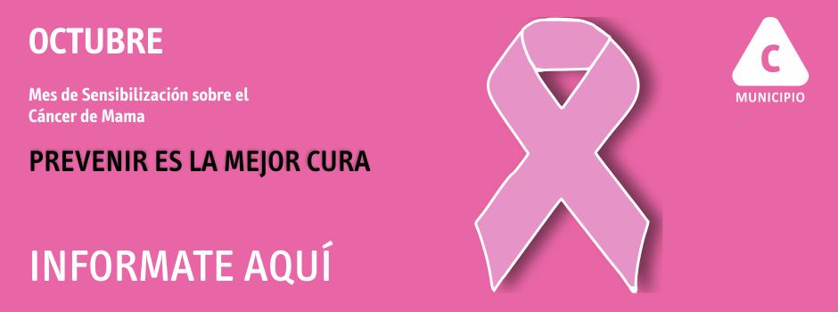 Octubre, mes de lucha contra el cáncer de mama
