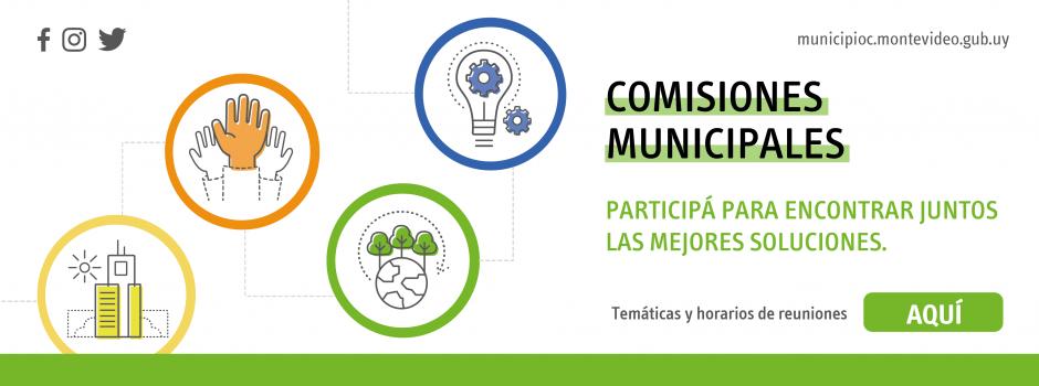 Comisiones Municipales 2021-2025