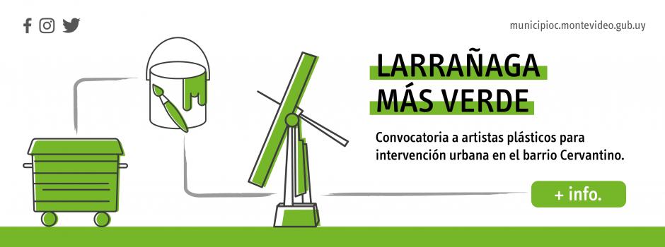 Convocatoria a artistas plásticos para intervención urbana en barrio Larrañaga